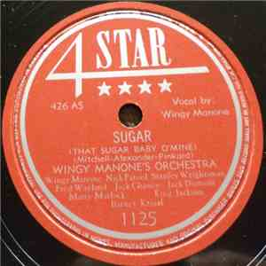 Wingy Manone's Orchestra - Sugar (That Sugar Baby O'Mine) / Black Market Blues album flac