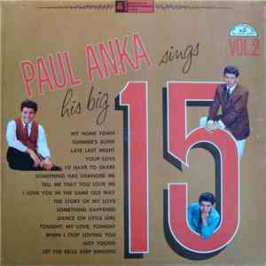 Paul Anka - Paul Anka Sings His Big 15 Volume 2 album flac