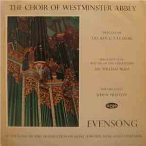 The Choir Of Westminster Abbey, The Rev. C. T. H. Dams, Sir William McKie, Simon Preston - Evensong Of The Feast Of The Translation Of Saint Edward, King And Confessor album flac