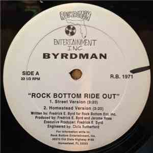 Byrdman - Rock Bottom Ride Out album flac